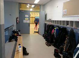 Cloakroom In A School Free Stock Photo - Public Domain Pictures